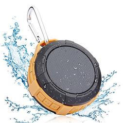 Bluetooth Shower Speaker Hcman Wireless Stereo Outdoor Water