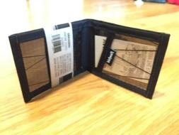 FLOWFOLD Slim Bifold Wallet Front Pocket Sailcloth Waterproo
