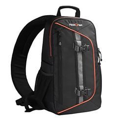 K&F Concept Professional Camera Sling Backpack with Rain Cov