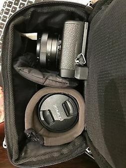 Evecase Hard Shell DSLR Camera Holster Shoulder Bag, Waterpr