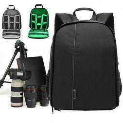 Camera Bag Waterproof Backpack Shoulder Case For Canon/Nikon