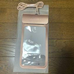 For Smartphone Waterproof Case It Rose Gold