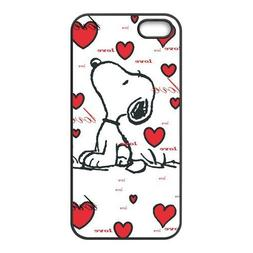 Snoopy Pattern Non-slip Protective Cover Case Skin For Apple