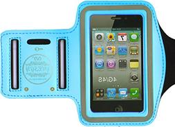 HESGI SPORTY Armband + Key Holder for iPhone 4/4S And 1 Free