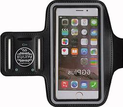 HESGI SPORTY Armband + Key Holder for iPhone 6 Plus 5.5 Inch