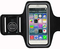 HESGI SPORTY Armband + Key Holder for iPhone 6 Air 4.7 Inch