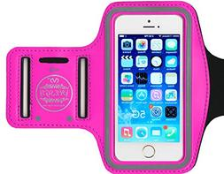 HESGI SPORTY Armband + Key Holder for iPhone 5/5S/5C, iPod T