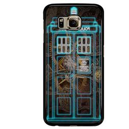 Steampunk Doctor Who Police Box Cases Samsung Galaxy S6