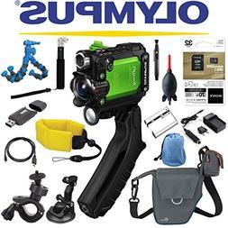 Olympus Stylus Tough TG-Tracker Wifi Action Camera  + Sony 3