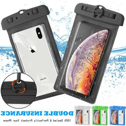 Swim Waterproof Pouch Dry Bag Case Phone Holder For iPhone S