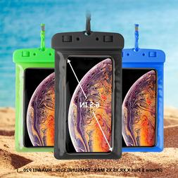 Swimming Waterproof Phone Pouch Dry Bag Arm Band Case Holder