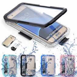 Swimming Waterproof Shockproof Phone Clear Case Cover For Sa