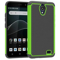 AT&T AXIA Case, Yiakeng Dual Layer Shockproof Slim Protectiv
