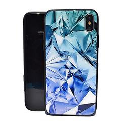 Tempered Glass iPhone X Case, Remax Colourful, Dazzling, Thi