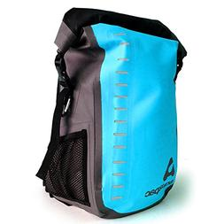 Aquapac Toccoa Vinyl Wet/Drybag with Backpack Straps Blue