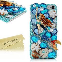 Touch 6 Case - Mavis's Diary 3D Handmade Bling Crystal Lovel