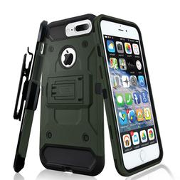 Zizo Tough Armor Cover for iPhone 7 Plus w/  Holster Clip an