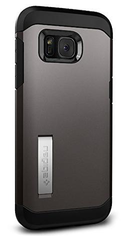 Spigen Tough Armor Galaxy S7 Edge Case with Kickstand and Ex