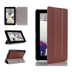 Tri-Fold Leather Case Cover for Amazon Kindle Fire 7inch 201