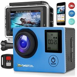 SereneLife 4K Ultra HD WiFi Pro Sport Action Camera - 1080p