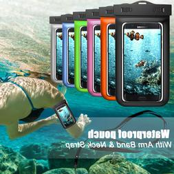 Under Water Proof Pouch Bag Dry Armband Case Cover For iPhon