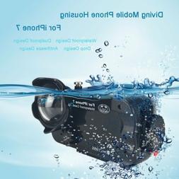 Underwater Photography Case Waterproof Diving Case + Fisheye