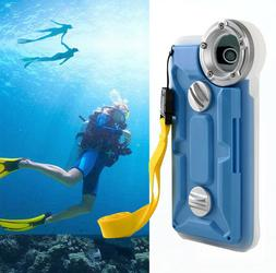 Underwater Photography Diving Waterproof Case Cover For iPho
