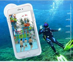 """Underwater Photography Diving Waterproof Case Cover 5.5"""" F"""