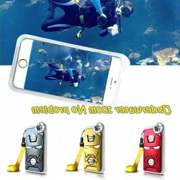 Underwater Photography Diving Waterproof Phone Case Cover Fo