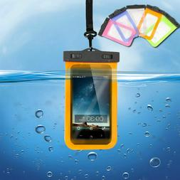 Underwater Pouch Dry Bag Case Waterproof Fit iPhone Samsung