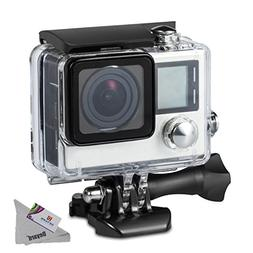 Deyard Waterproof Housing Case for GoPro Hero 4 and Hero 3+