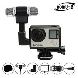 S-Union New Frame Housing Case + External Microphone + Adapt