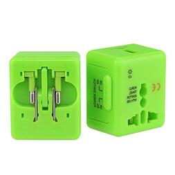 Universal Travel Adapter wonplug Worldwide All in One Univer