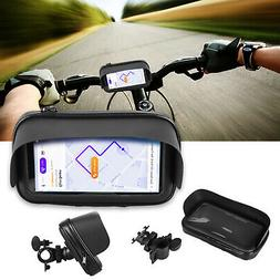 Waterproof Motorcycle Bicycle Cell Phone/GPS Holder Case Bag