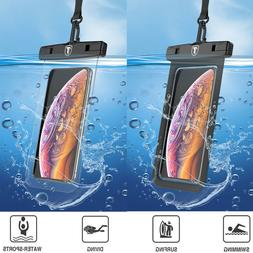 Universal Cell Phone Waterproof Pouch Bag Case With Neck Str