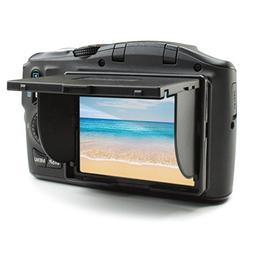 "3"" LCD Sun Shade Pop Up Photography Screen with Folding De"
