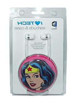 Spoontiques Universal/Smartphones - Wonder Woman Earbuds wit