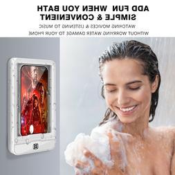 Universal Waterproof Bathing Phone Box Bathroom case Wall Mo