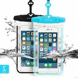 Universal Waterproof Case FITFORT 2 Pack Universal Dry Bag/P