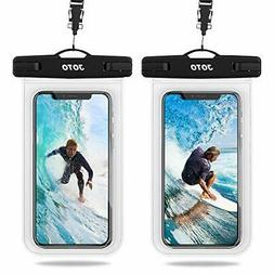 JOTO Universal Waterproof Case, IPX8 Cellphone Dry Bag Pouch