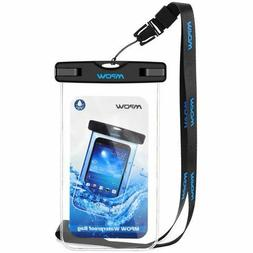 Mpow Universal Waterproof Case, IPX8 Waterproof Phone Pouch