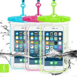 Universal Waterproof Case, FITFORT Phone Pouch Dry Bag Compa
