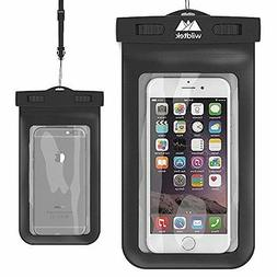 Wildtek Premium Universal Waterproof Cell Phone Case - Black