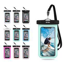 JOTO Universal Waterproof Pouch Cellphone Dry Bag Case for p
