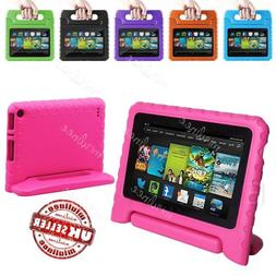 Kids Shockproof Stand Case For Amazon Kindle Fire 7 5th Gen