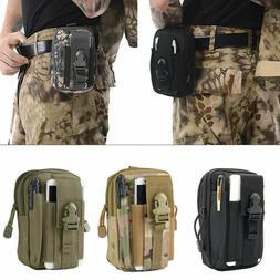 US Tactical Cell Phone Belt Pack Bag Molle Waist Pouch Holst