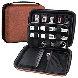 USB Flash Drive Case, Hard Drive Case EVA Waterproof Shockpr