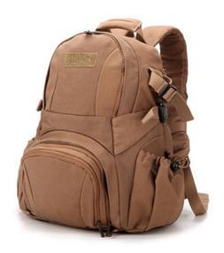 Kattee Vintage Canvas DSLR SLR Camera Case Shoulder Backpack