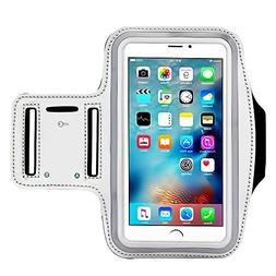 Premium Water Resistant Sports Armband, CaseHQ with Key Hold