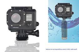 Waterproof  Blackout Housing Cases Case for GoPro Hero Hero3